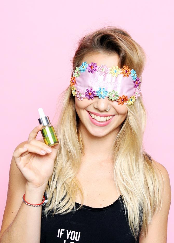 Night Shift facial serum with #missalicebabe